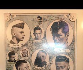 Faded barbershop